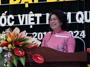 Ông Nguyễn Dũng Hùng được bầu giữ chức Chủ tịch Mặt trận quận 7