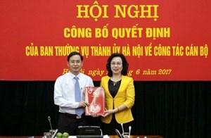 Ông Nguyễn Văn Tứ làm Chánh Văn phòng Thành ủy Hà Nội