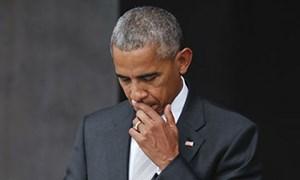 Ông Obama choáng váng sau quyết định của Quốc hội Mỹ
