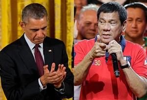 Ông Obama hủy gặp gỡ sau khi bị Tổng thống Philippines xúc phạm