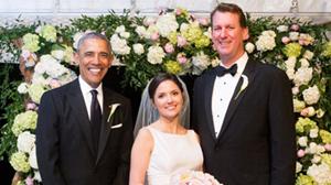 Ông Obama làm phù rể cho trợ lý