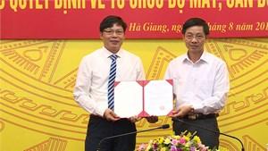 Ông Phạm Văn Điển giữ chức Phó Vụ trưởng Vụ Hợp tác quốc tế, Bộ NN&PTNT