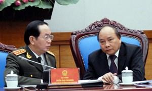 Ông Trần Đại Quang được giới thiệu để bầu làm Chủ tịch nước