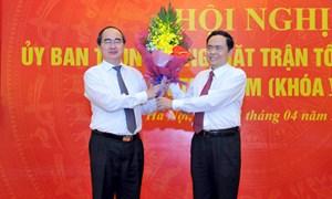 Ông Trần Thanh Mẫn là Phó Chủ tịch- Tổng Thư ký UBTƯ MTTQ Việt Nam