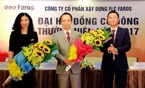 Ông Trịnh Văn Quyết chính thức trở thành Tân Chủ tịch HĐQT FLC Faros