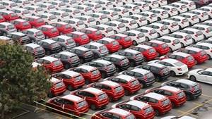 Ôtô nhập khẩu từ Thái Lan vẫn tăng