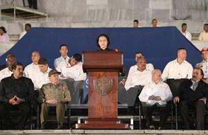 Phát biểu của Chủ tịch Quốc hội tại lễ tưởng niệm Fidel Castro