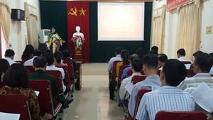 Phát động đợt thi chào mừng đại hội Mặt trận các cấp