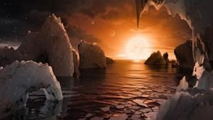 Phát hiện 7 hành tinh giống Trái Đất, có thể có sự sống