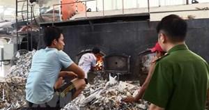 Phát hiện doanh nghiệp vi phạm về xử lý chất thải