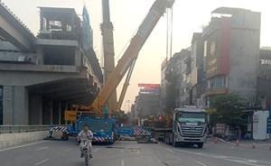 Phạt nhà thầu tuyến đường sắt Cát Linh - Hà Đông 30 triệu đồng