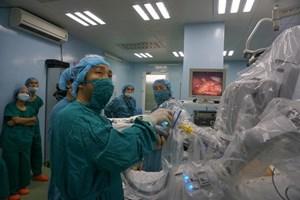Phẫu thuật thành công bằng ứng dụng robot trong điều trị nang ống mật chủ