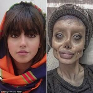 Phiên bản 'xác sống' của Angelina Jolie