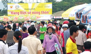 Phiên chợ hàng Việt về nông thôn huyện Gò Công  Đông