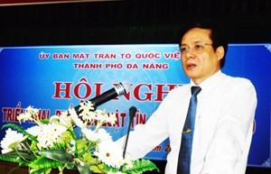 Phó Chủ tịch Lê Bá Trình triển khai Luật Tín ngưỡng, tôn giáo tại Đà Nẵng