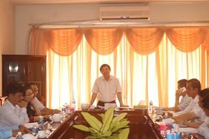 Phó Chủ tịch Nguyễn Hữu Dũng duyệt kế hoạch Đại hội MTTQ hai tỉnh Hậu Giang và Lâm Đồng