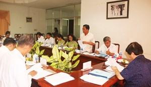 Phó Chủ tịch Nguyễn Hữu Dũng duyệt kế hoạch Đại hội MTTQ một số tỉnh phía Nam