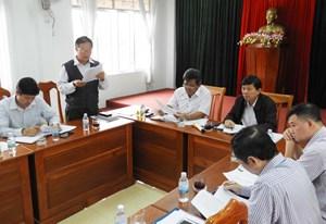 Phó Chủ tịch Nguyễn Hữu Dũng làm việc tại Gia Lai