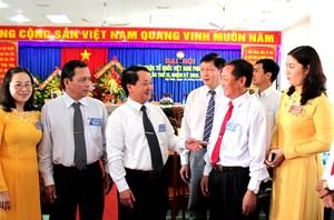 Phó Chủ tịch - Tổng thư ký Hầu A Lềnh dự đại hội MTTQ cấp xã đầu tiên tỉnh An Giang