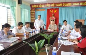 Phó chủ tịch, Tổng thư ký Trần Thanh Mẫn làm việc với huyện nông thôn mới Phong Điền