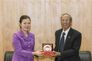 Phó Chủ tịch Trương Thị Ngọc Ánh tiếp đoàn đại biểu tôn giáo Baha'i
