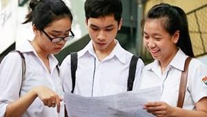 Phổ điểm các môn thi và các khối thi của thí sinh đăng ký xét tuyển ĐH, CĐ năm 2016