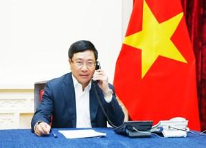 Phó Thủ tướng, Bộ trưởng Ngoại giao Phạm Bình Minh đề nghị Malaysia trả tự do cho Đoàn Thị Hương