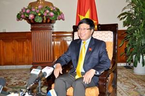 Phó Thủ tướng, Bộ trưởng Ngoại giao Phạm Bình Minh: Trong mắt bè bạn, Việt Nam là một đất nước phát triển năng động