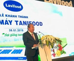 Phó Thủ tướng Thường trực dự Lễ khánh thành nhà máy Tanifood ở Tây Ninh
