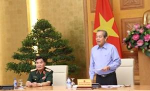 Phó Thủ tướng Thường trực gặp mặt đoàn cựu chiến binh Quân đoàn 2