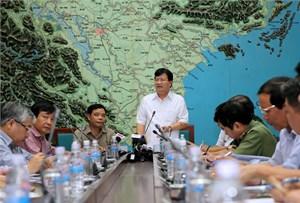 Phó Thủ tướng Trịnh Đình Dũng: Cần tích cực, chủ động ứng phó với bão số 7