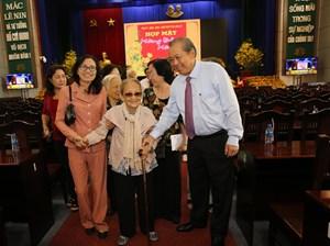 Phó Thủ tướng Trương Hòa Bình dự họp mặt mừng Đảng, mừng Xuân tại Long An