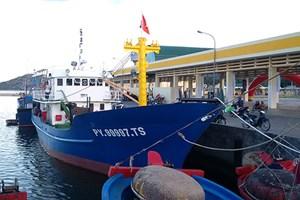 Phú Yên: Bàn giao tàu vỏ thép cho ngư dân