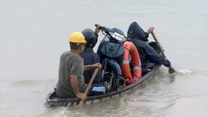 Phú Yên: Mưa lớn gây chia cắt quốc lộ 1, ngập cục bộ nhiều địa phương