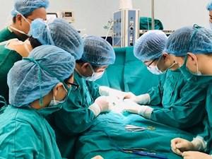 Phú Thọ: Phẫu thuật thành công bệnh nhi 5 tháng tuổi bị dị tật bẩm sinh