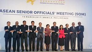 Quan chức cao cấp ASEAN thảo luận về tiến trình xây dựng COC