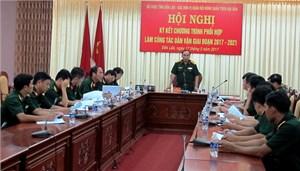 Quân đội đẩy mạnh phối hợp thực hiện công tác dân vận tại các xã nghèo