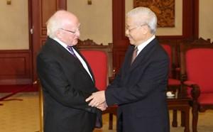 Quan hệ Việt Nam-Ireland ngày càng đi vào chiều sâu