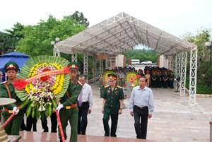 Quảng Bình: An táng 35 hài cốt liệt sỹ hy sinh tại Lào