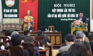 Quảng Bình có 9 người ứng cử đại biểu Quốc hội khóa XIV
