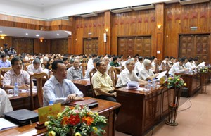 Quảng Bình: Học tập, quán triệt và triển khai thực hiện Nghị quyết Đại hội XII của Đảng