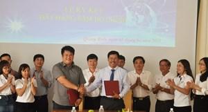 Quảng Bình: Ký kết bao tiêu sản phẩm sâm Bố Chính