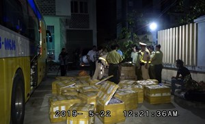 Quảng Bình: Phát hiện xe khách vận chuyển trái phép 150 kg phong lan rừng
