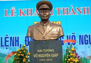 Quảng Bình xây dựng Tượng đài Đại tướng Võ Nguyên Giáp