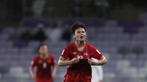 Quang Hải được bình chọn là cầu thủ hay nhất vòng bảng Asian Cup