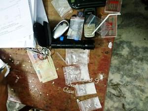 Quảng Nam: Bắt quả tang một thanh niên đang bán ma túy