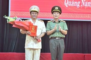 Quảng Nam có tân Phó Giám đốc Công an tỉnh