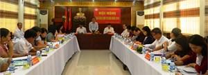 Quảng Nam: Hội nghị giao ban Cụm thi đua 9 huyện miền núi năm 2016