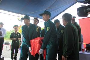 Quảng Nam: Lễ truy điệu và an táng 7 hài cốt liệt sĩ