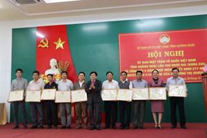 Quảng Nam, Quảng Ngãi: MTTQ khẳng định vị thế